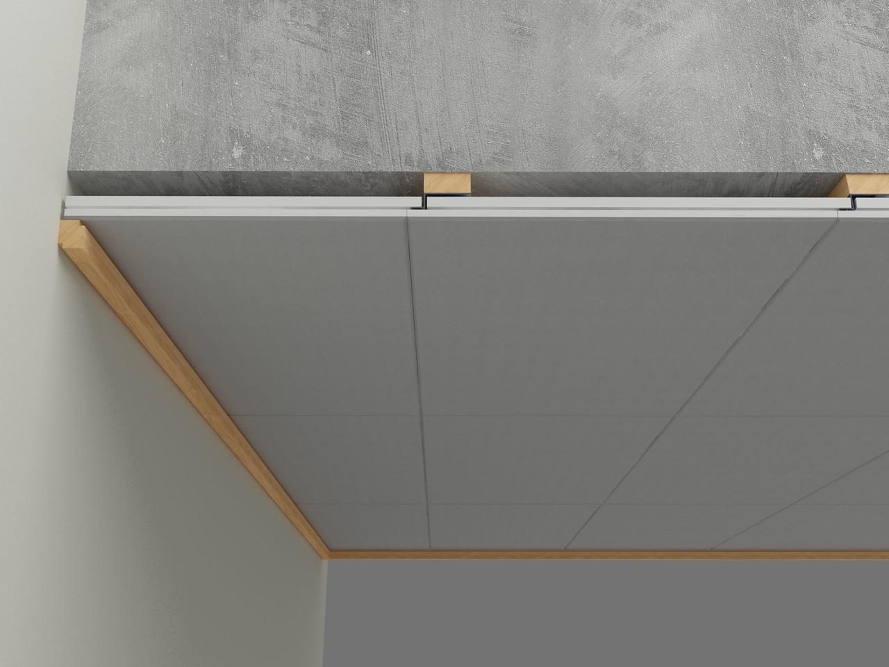 Потолочные акустические панели 1200х600х25 [Concealed Edge]