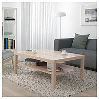 ЛАКК Журнальный стол, под беленый дуб, 118x78 см, фото 1