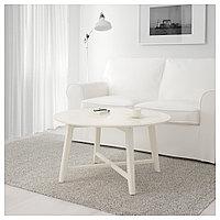 КРАГСТА Журнальный стол, белый, 90 см, фото 1
