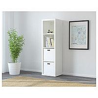 КАЛЛАКС Стеллаж, белый, 42x147 см, фото 1