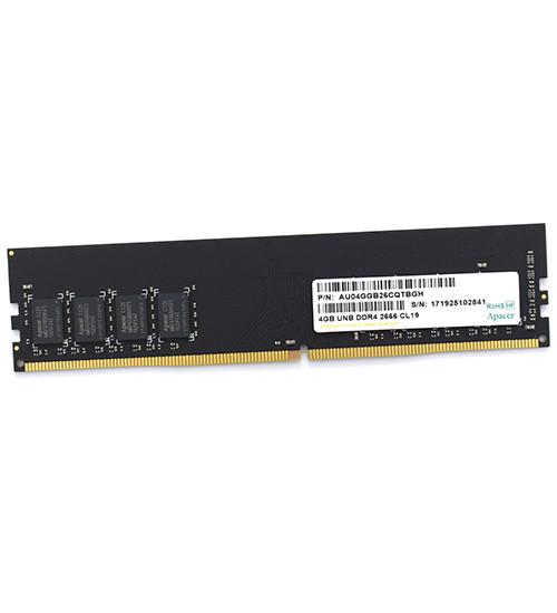 Модуль памяти Apacer EL.04G2V.KNH 4 GB  DDR4 2666 MHz DIMM CL19