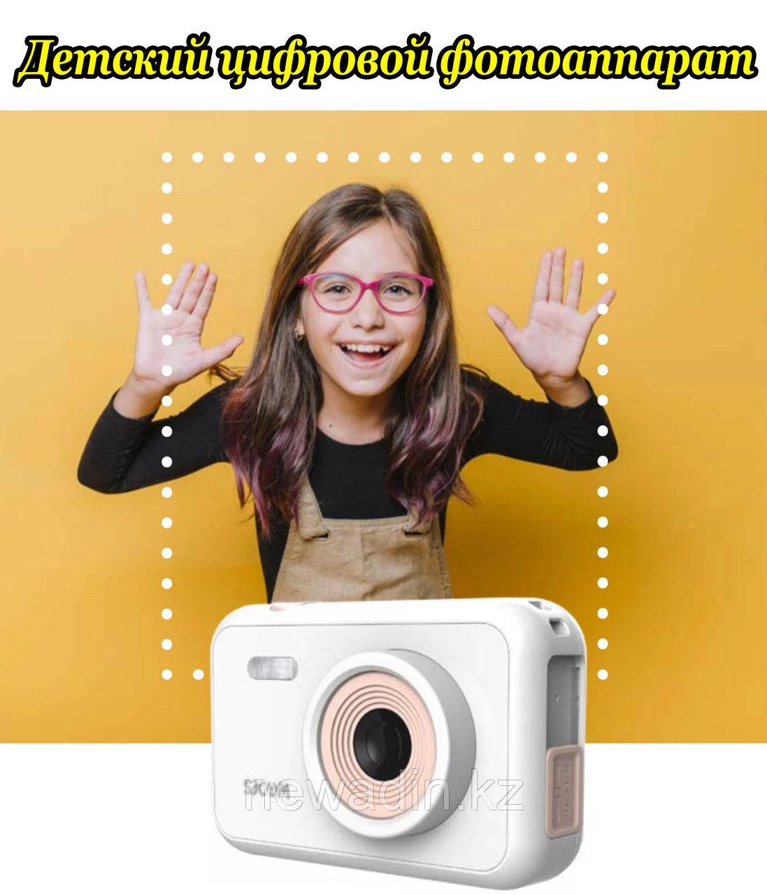 Детский цифровой фотоаппарат со встроенными играми