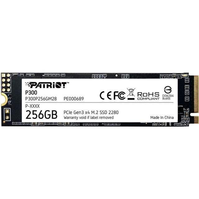 Накопитель SSD Patriot P300 M2 2280 PCIe 256GB