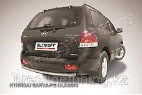 Защита заднего бампера d57 Hyundai Santa Fe 2001-06