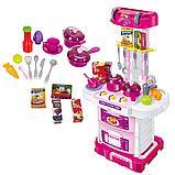 """Игровая кухня """"Little chef"""" 3 в 1 чемоданчик, фото 5"""