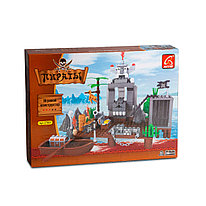 Игровой конструктор Ausini 27601 Пираты Нападение пиратов 285 деталей Цветная коробка