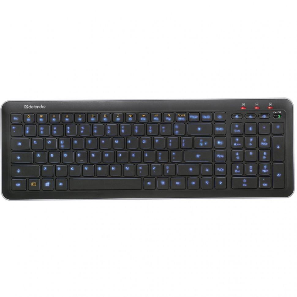 Клавиатура Defender NOVA SM-680L черный