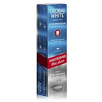 """Global White Зубная паста """"Отбеливающая. Максимальный блеск"""" 100 мл"""