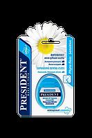 President Sensitive фитофлосс с пропиткой зубной пасты