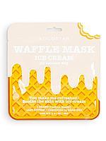 KOCOSTAR / Освежающая и смягчающая вафельная маска для лица Сливочное мороженое