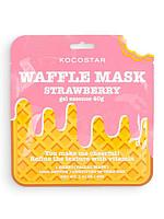 KOCOSTAR / Тонизирующая вафельная маска для лица Клубничный фреш