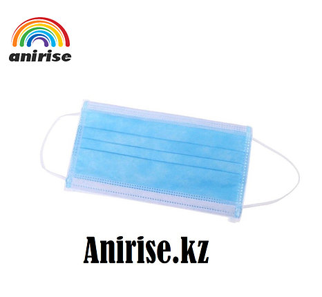 Упаковка медицинский масок 100 шт, фото 2