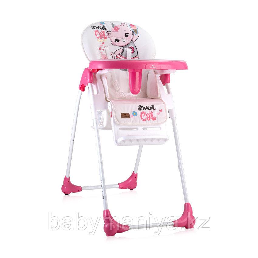 Стульчик для кормления Bertoni (Lorelli) OLIVER Розовый / Pink Cat 2031