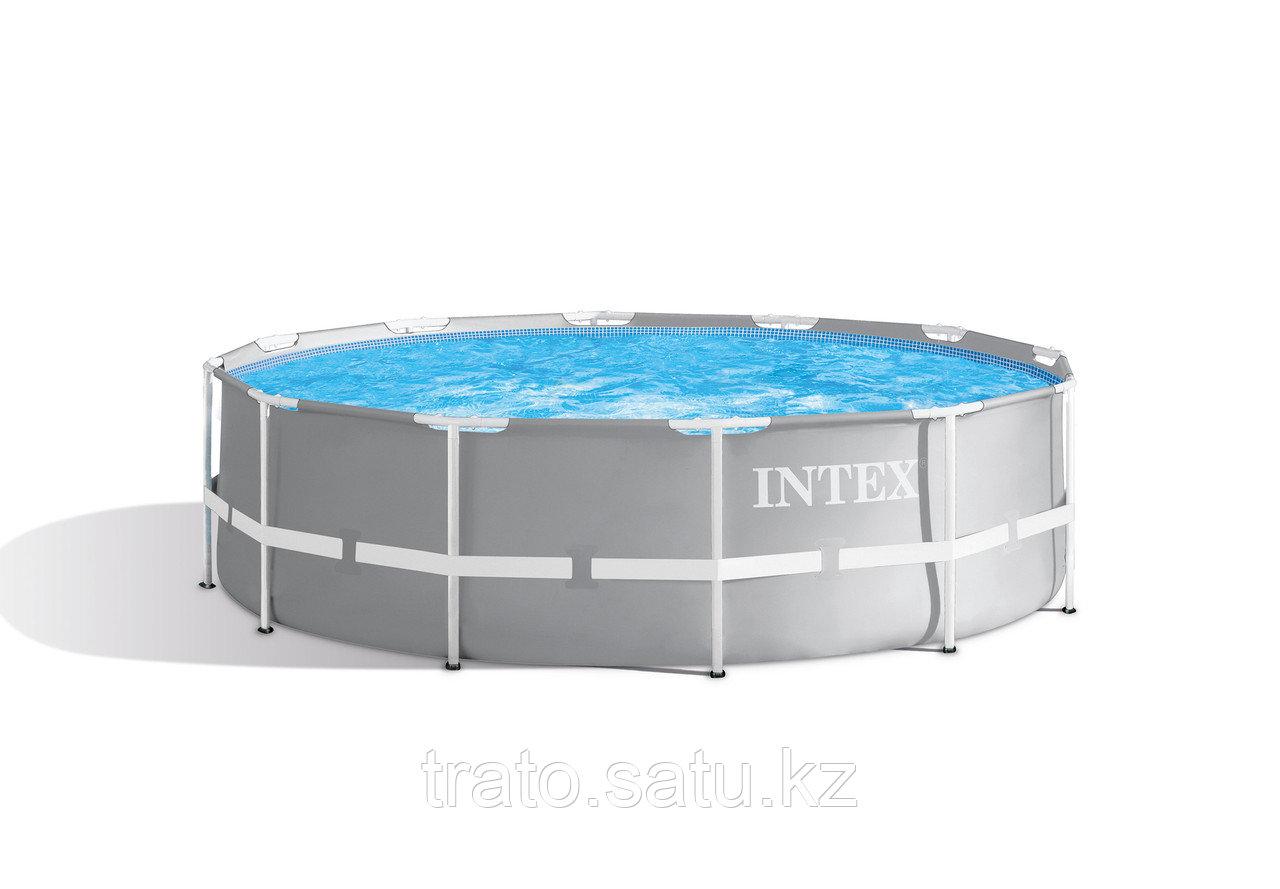 Каркасный бассейн 366х99 фильтр-насос, лестница