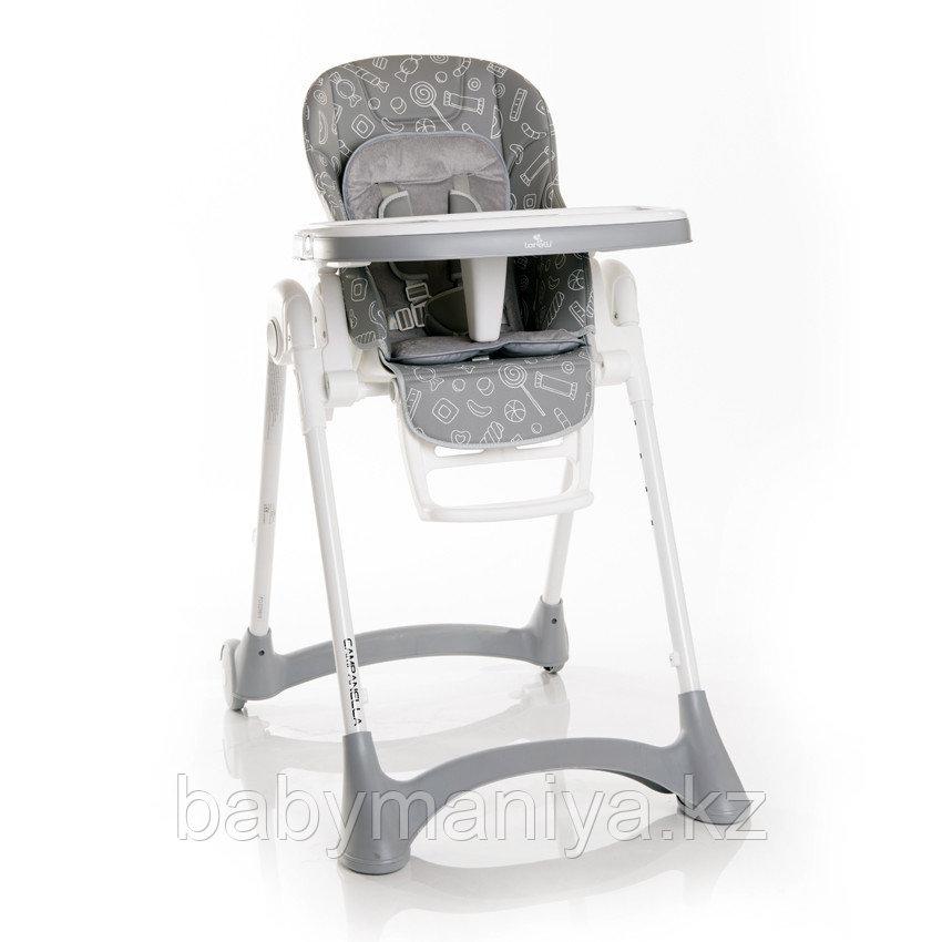 Стульчик для кормления Lorelli CAMPANELLA Серый / Grey GREY CANDY 2096
