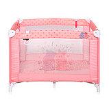 Детский игровой манеж Lorelli Play Розовый / Pink HIPPO 2028, фото 2