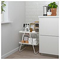 ВИГГИА Подставка для подноса, белый, 37x50x74 см, фото 1