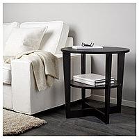 ВЕЙМОН Придиванный столик, черно-коричневый, 60 см, фото 1