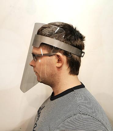Щиток лицевой для защиты зрения и дыхания в Алматы, фото 2