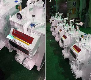 Газовые испарители Gurbong Hanjin Co., Ltd производительностью от 50 до 1000 кг/ч