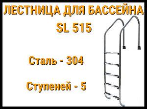 Лестница забортная для бассейна SL 515 (5 ступени)