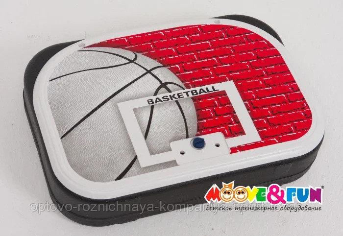 Детская баскетбольная стойка складная 116 см в чемодане арт