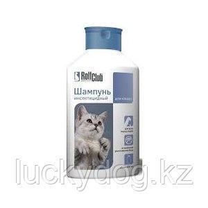 Шампунь от блох и клещей RolfClub Инсектин для кошек