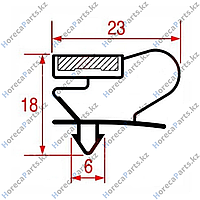 37Q5450 Уплотнитель изоляционный профиль 9048 Ш 655мм Д 1500мм посадочный размер