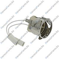 VE1015A1 Патрон для лампы цоколь G9 220-230В монтажный 35,5мм присоединение кабель 100 мм