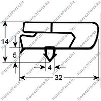 12035412 /6045010115 Уплотнитель изоляционный профиль 9797 Ш 440мм Д 560мм посадочный размер