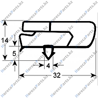 6045010118 Уплотнитель изоляционный профиль 9797 Ш 445мм Д 246мм посадочный размер