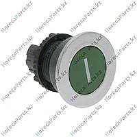 502170 Выключатель нажимной кнопочный монтажные размеры 22 мм зелёный