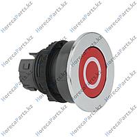 502169 Выключатель нажимной кнопочный монтажные размеры 22 мм красный