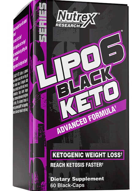 Жиросжигатель Lipo 6 Black KETO, 60 caps.