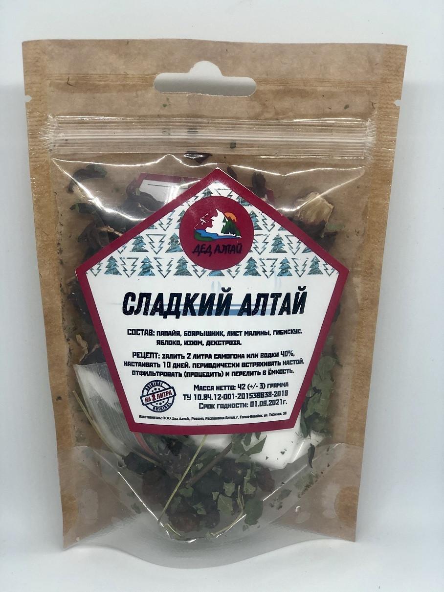 Набор для настойки Сладкий Алтай– Дед Алтай