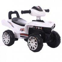 Толокар квадроцикл Quadro MotoSpeed, белый