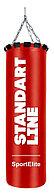Мешок боксерский SportElite STANDART LINE 60см, d-26, 15кг, красный