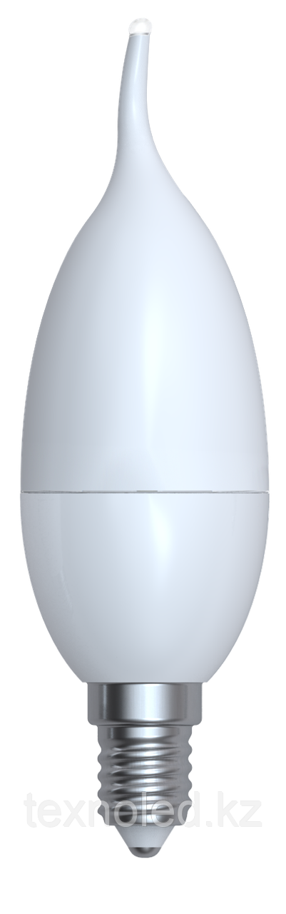 Светодиодная лампа свеча  Е14/8W 3000K,4200K,6400К