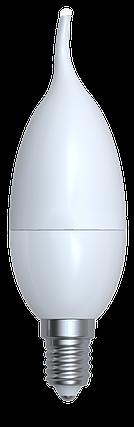 Светодиодная лампа свеча  Е14/8W 3000K,4200K,6400К, фото 2