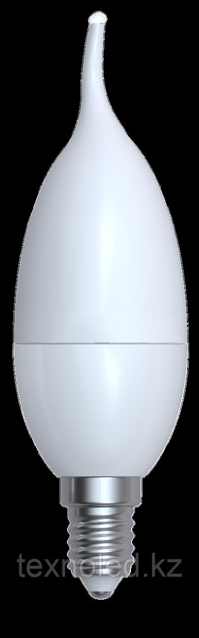 Светодиодная лампа свеча  Е14/10W 3000K,4200K,6400К