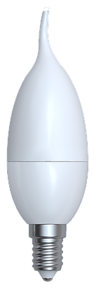 Светодиодная лампа свеча  Е14/10W 3000K,4200K,6400К, фото 2
