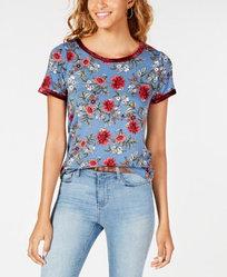 Ultra Flirt футболка женская с цветочным принтом