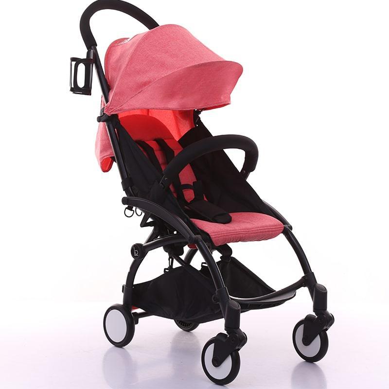 Коляска прогулочная Babytime, розовый