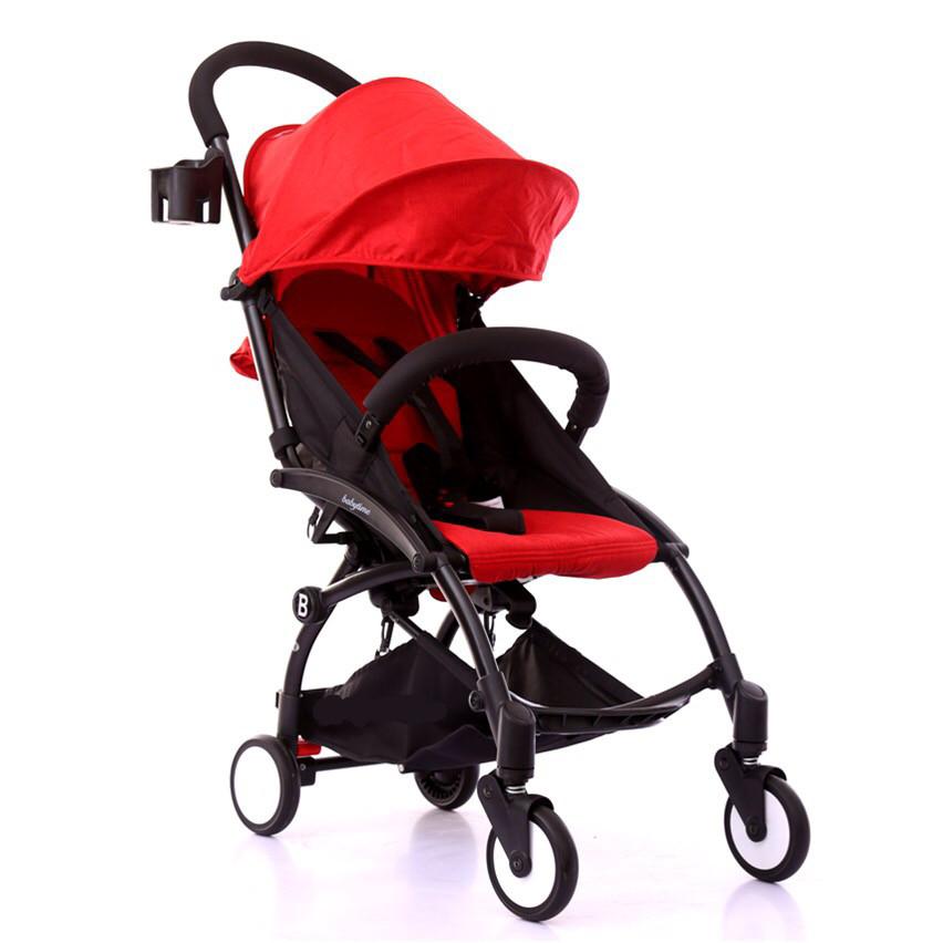 Коляска прогулочная Babytime, красный