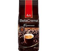 """Кофе в зернах Melitta """"Bella Crema Espresso"""" натуральный 200 гр"""