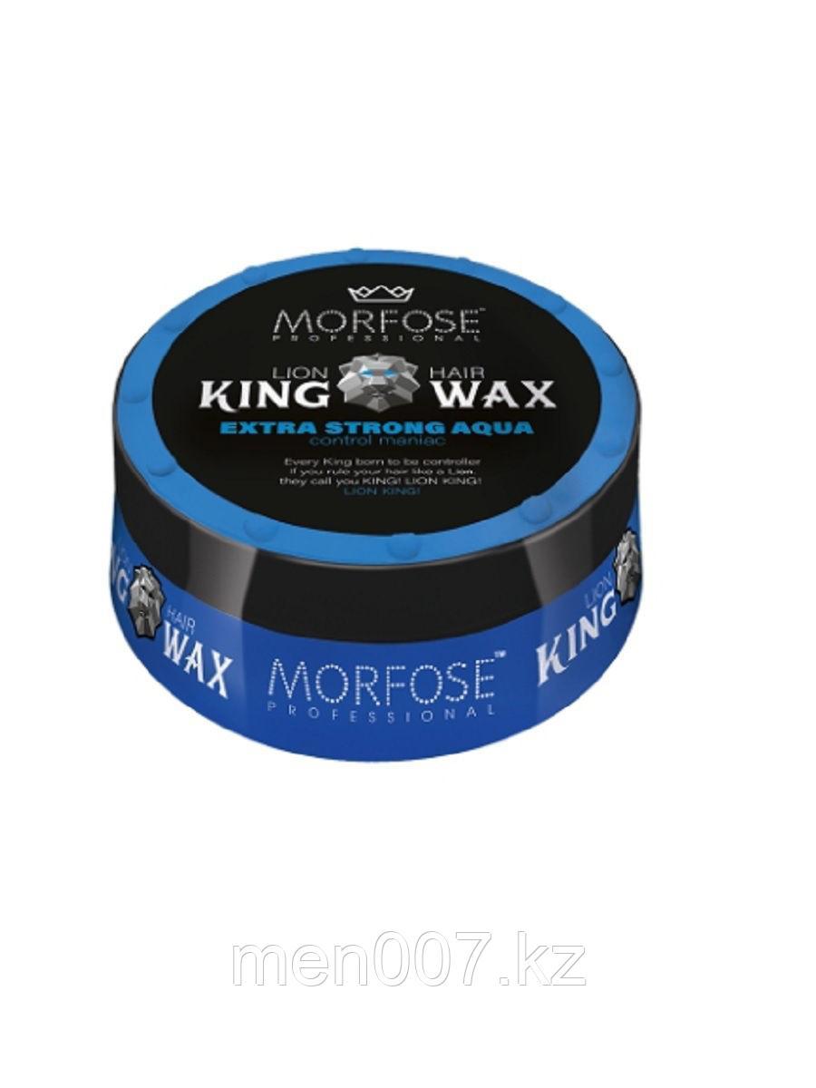 MORFOSE Extra Strong Aqua 175 мл. (Воск для волос)