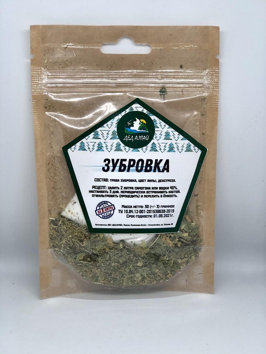 Набор для настойки Зубровка – Дед Алтай