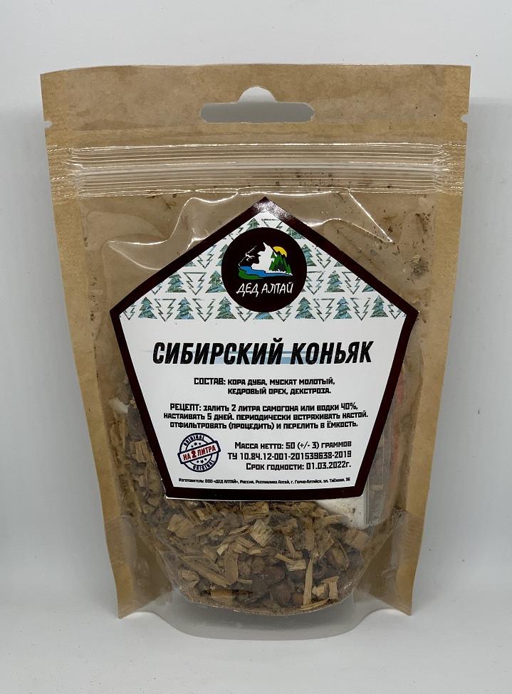 Набор для настойки Сибирский коньяк – Дед Алтай