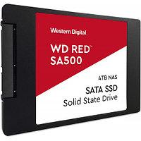 Твердотельный накопитель SSD 4Tb SATA 6Gb/s WD Red SA500 WDS400T1R0A 3D TLC