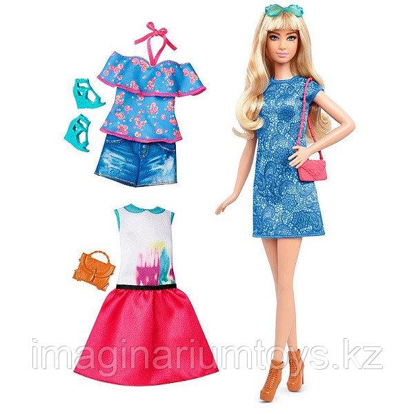 "Кукла Барби ""Игра с модой"" DTF06"